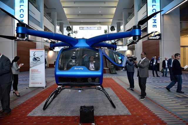 2019 WAS SureFly Flying Car