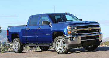 2015 Chevrolet Silverado LT 2500HD with Z71