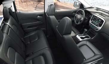 2016 Chevrolet Colorado Interior