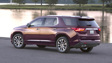 Featuring a bold and refined new look, the completely redesigned 2018 Chevrolet Traverse is built of style and purpose. The all-new Traverse offers customers best-in-class cargo space and convenience features that make loading and unloading a breeze.