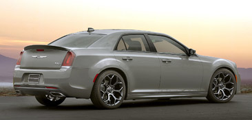 2017 Chrysler 300S with Sport Appearance Packages