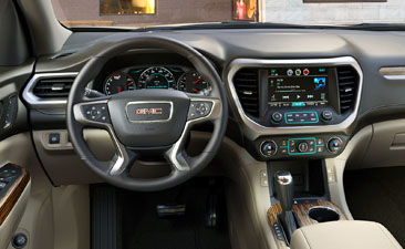 2017 All-New GMC Acadia Denali Interior