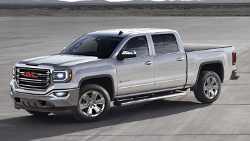 2017 GMC Sierra with eAssist