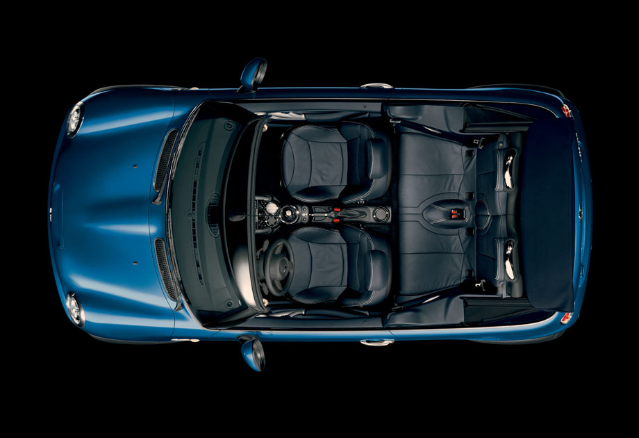 If you were the sun, or a cloud, or a bird, or some type of mythical giant, this is what a Convertible would look like.