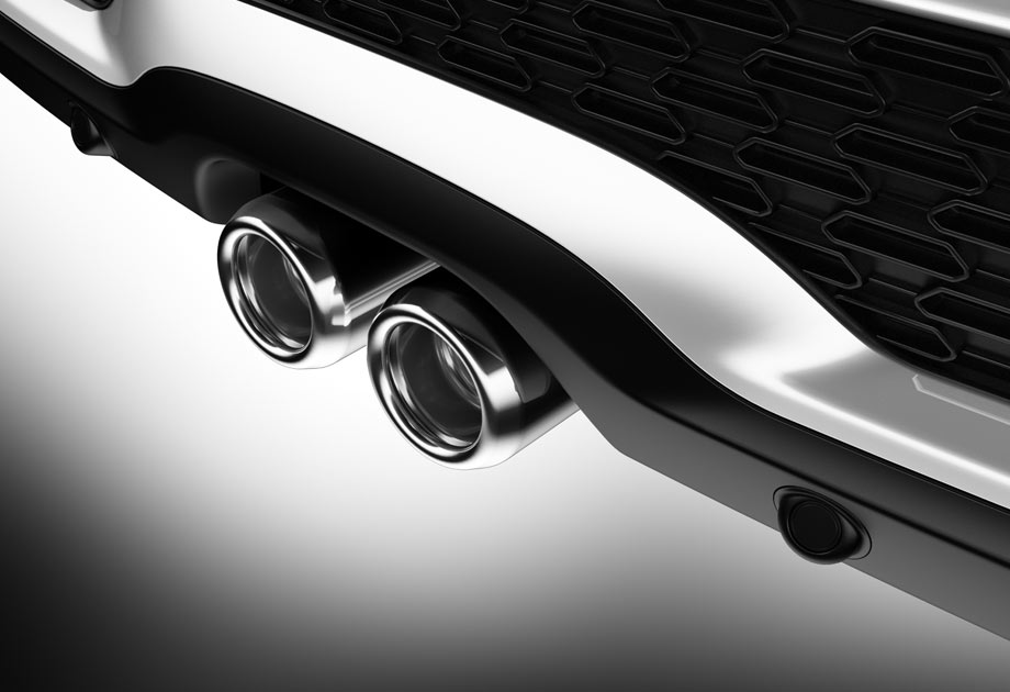 Dual sport exhaust tips with our signature tailpipe design.