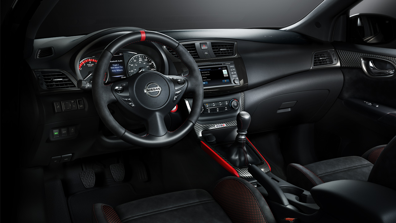 nissan-sentra-nismo-leather-wrapped-steering-wheel