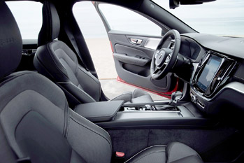 New Volvo S60 R-Design interior