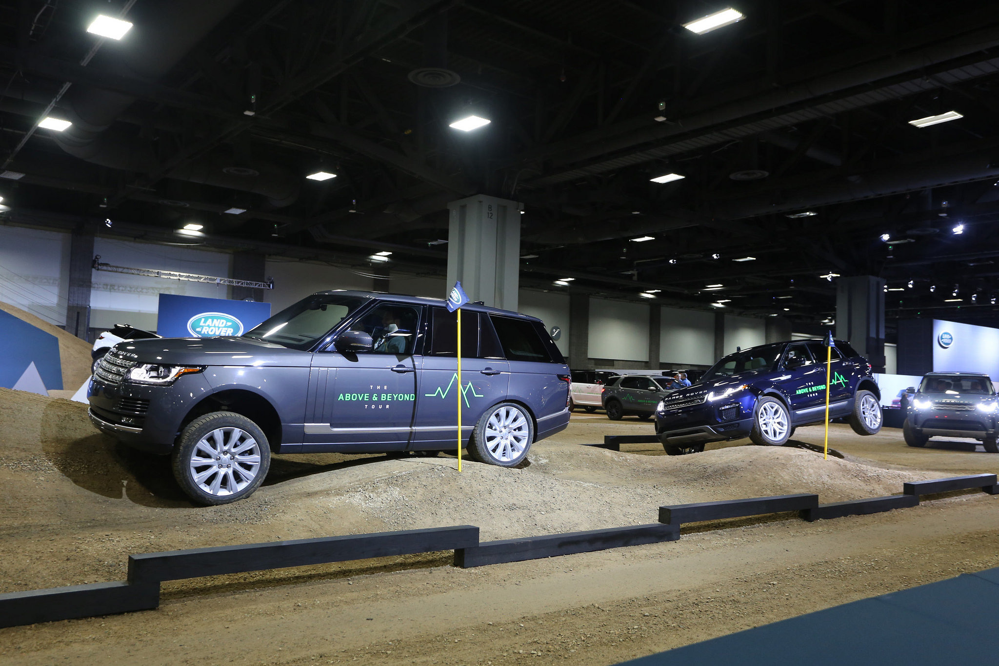 Jaguar Land Rover Test Drive Experience | Washington Auto Show