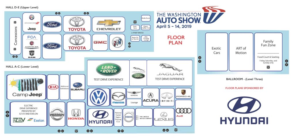 2019 Floor Maps   Washington Auto Show on show a home, show a volcano, usa map, show a poster, show a paper, show a monarch butterfly, show map of africa, show map of mississippi, show a ruler, show a email, show a book, show a world globe, show a chart, show a car, show a scale, show map of florida, show a finite set, show map of mexico, show a compass, show a calendar,